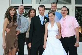 kamaráti - Tinka, Vlado, Ivana, Vlado a Martin