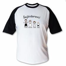 naše svadobné tričko NEKOPIROVAT !!!!!! - toto je muzove, rovnake bude mat syn a my s dcerou budeme mat s cervenymi rukavmi
