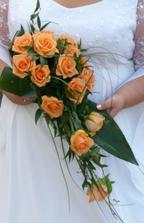 Kytice nevěsty...