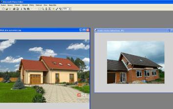 dům a budoucí fasáda