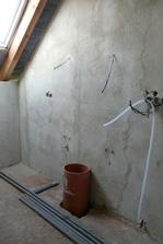 horní koupelna -  shoz prádla