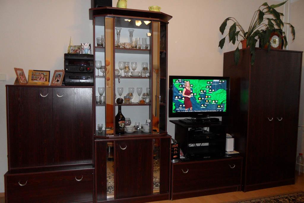 Naša obývačka, prerábanie - Stará obývačka