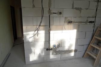 Elektrika v novej stene