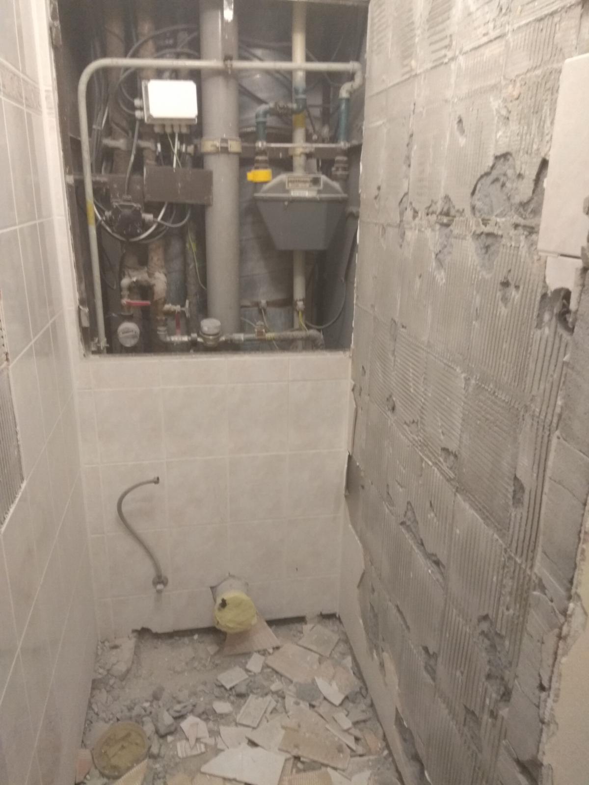 Prerábka panelákovej kúpelne a wc - Búrame o 106