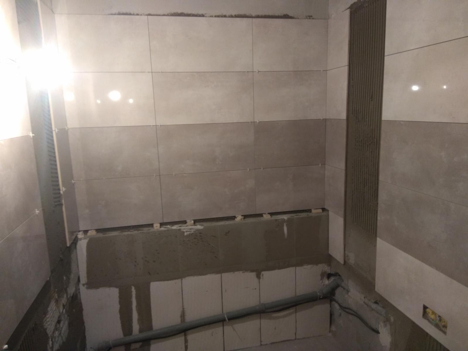 Prerábka panelákovej kúpelne a wc - Už sa to rysuje :D