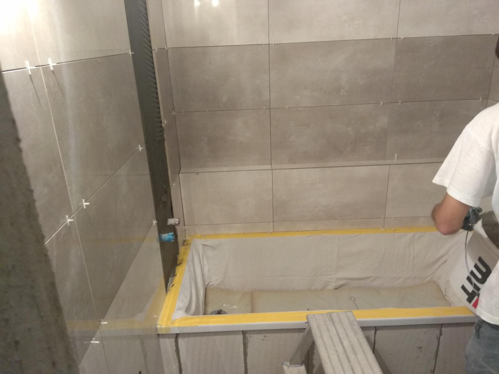 Prerábka panelákovej kúpelne a wc - Obkladáme a murujeme