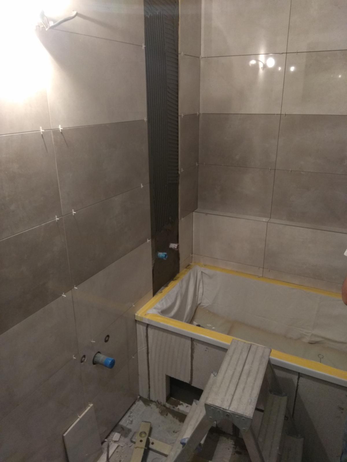 Prerábka panelákovej kúpelne a wc - Skoro hotovo :D