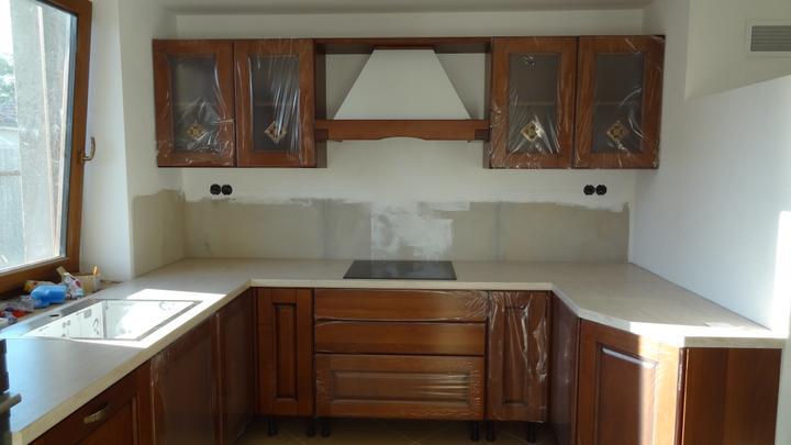 Náš domček IDEAL z Prodomu - Este nedokoncena kuchyna