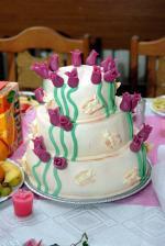 naša svadobná tortička
