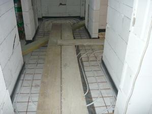 podlahove kurenie+betonovanie