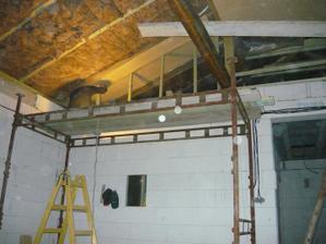 robenie stropu v obyvke