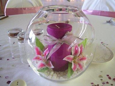 Purple Wedding Dreams..:o) - Sviecky v skle?