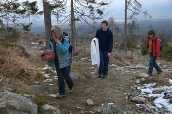 Táto a ďalšie fotky sú z fotenia v Tatrách dva týždne pred svadbou