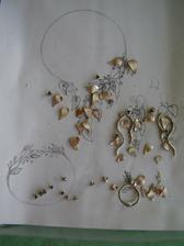 časti skladačky mojich šperkov