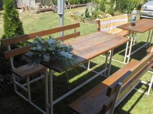 dobrá inšpirácia na svadobný stôl...