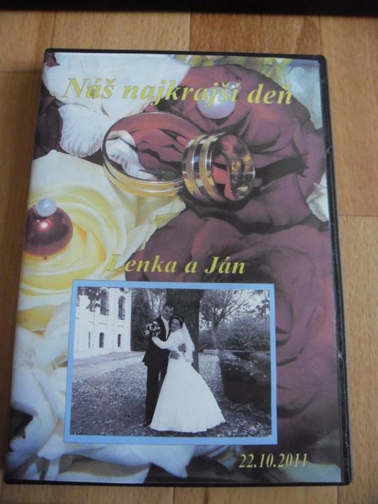 Lenka{{_AND_}}Janko - predná strana nášho svadobného dvd....