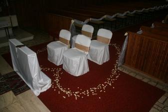 Výzdoba v kostole