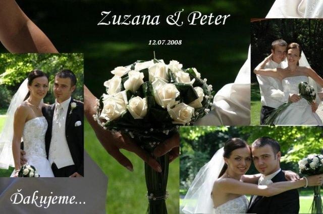 Zuzana Bednáriková{{_AND_}}Peter Demín - Naše ďakovné kartičky
