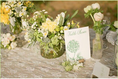 Kvety - vyzdoba na stoly taqto nejaq