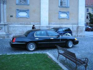 Naše svadobné auto..