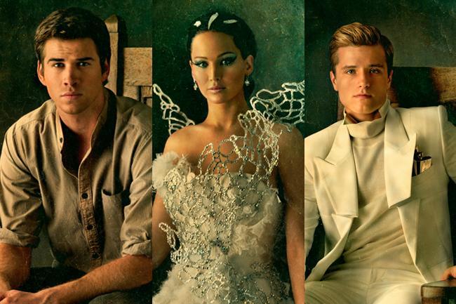 Hunger Games- Wedding - Gale-Katniss-Peeta