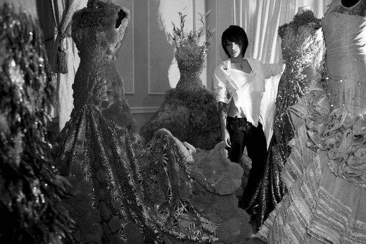 Hunger Games- Wedding - Tex Saverio a jeho šialené módne kreácie