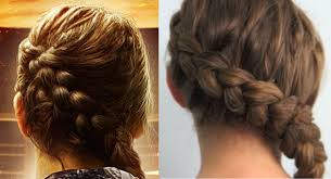 Hunger Games- Wedding - účes a la Katniss