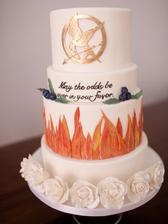 Svadba s témou Hunger Games