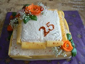 K 25.výročí svatby