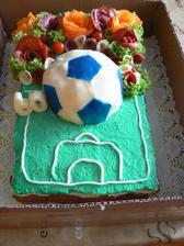 Fotbalový dortík