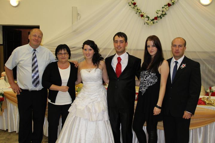 Slávka Bakaľová{{_AND_}}Václav Červenka - rodičia a súrodenci môjho manžela