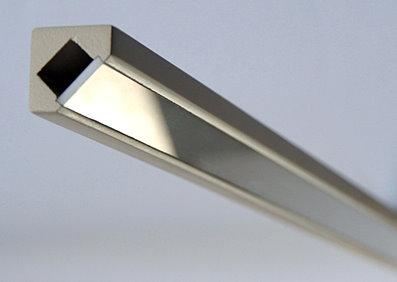 MDF profily pre LED pásy - 45 MDF