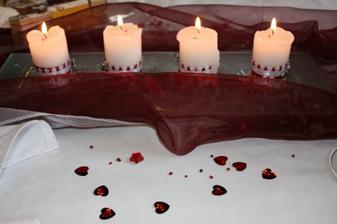 sviečočky - dielko môjho manželíka