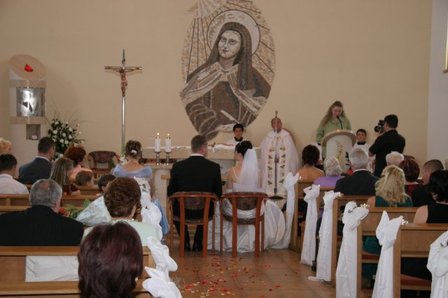 Miriam Kňazeová{{_AND_}}Marek Dobrota - Veľmi sa mi páčila výzdoba kostola