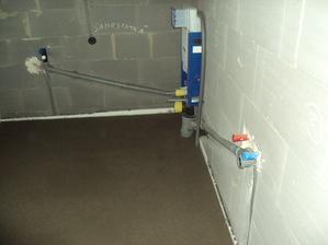 kúpelňa - wc a umývadlo