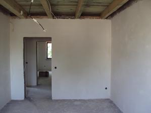 Detska izba, omietky hotove 2.8.2013