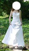 snehovo biele svadobné šaty, 34