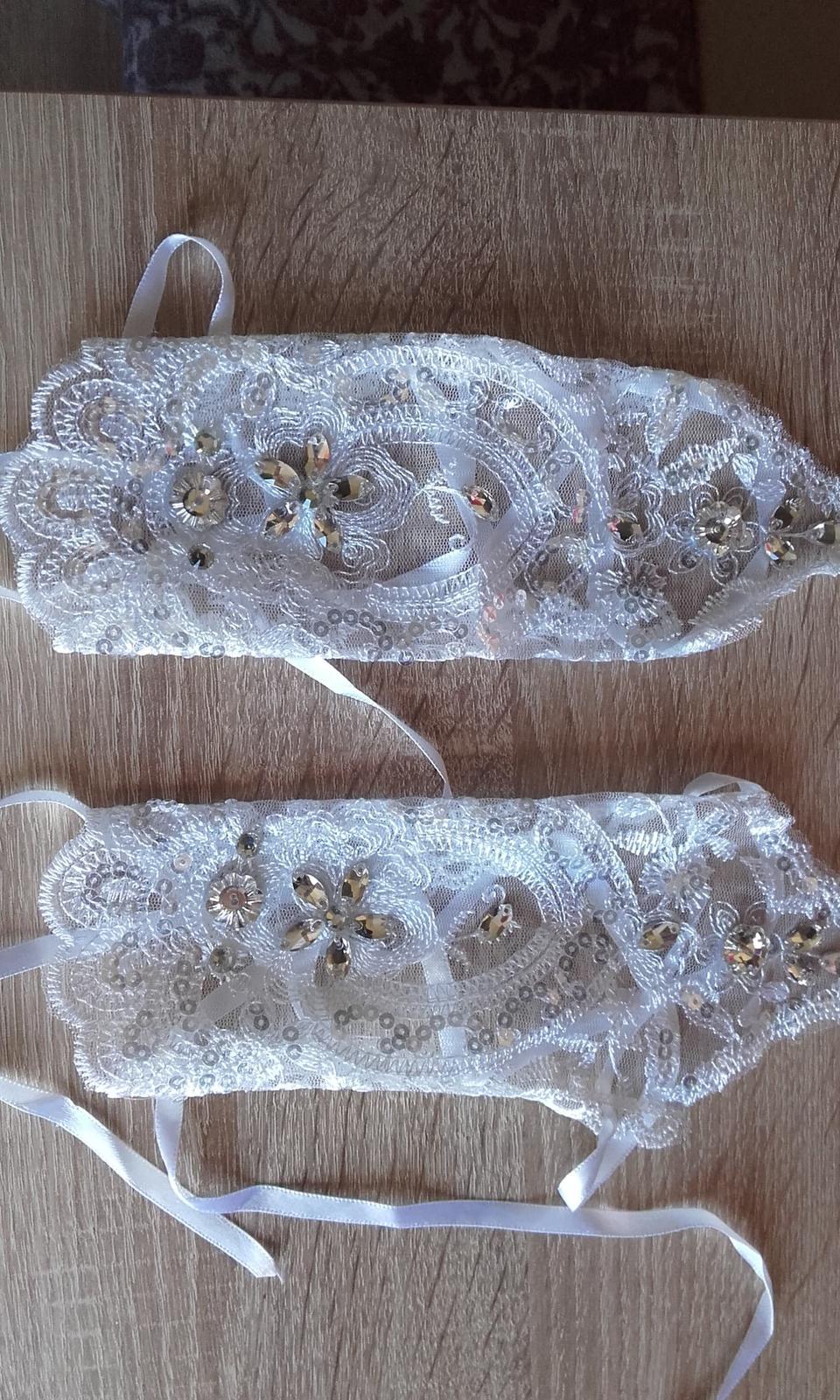 Svadobné rukavičky - Obrázok č. 2