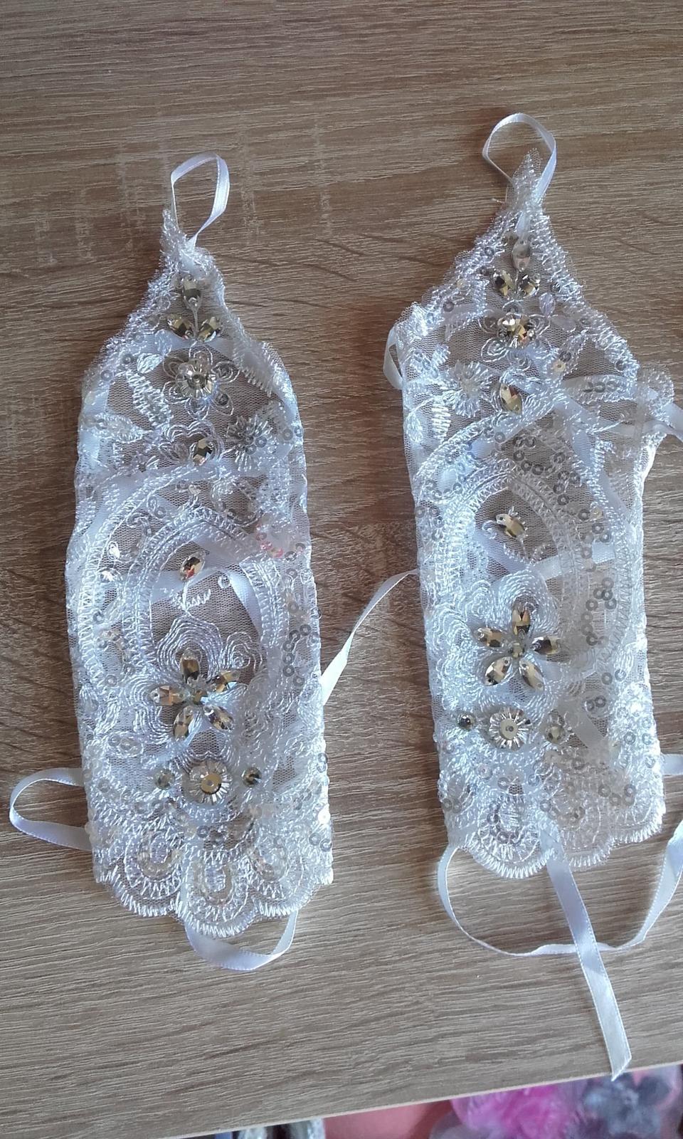 Svadobné rukavičky - Obrázok č. 1