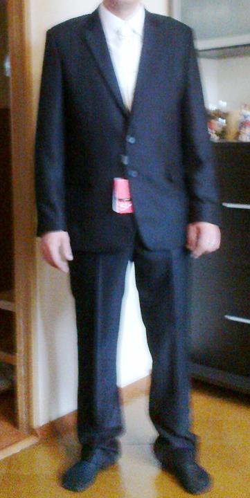 Svadobné šaty a všetko ostatné, čo už máme - ...a máme oblek :-) ešte s cetlíkom :-D