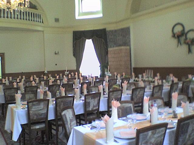 Naša svadba - tu bude hostina a zábava
