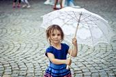 Krajkové Paraple, deštník, slunečník s vějířem,