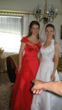 staršia družička Gabka a ja