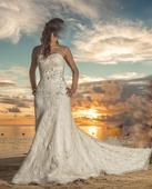 šik svadobné šaty - predane, 36