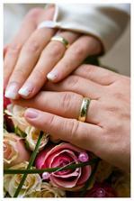Nase krasne obrucky, kupovane natesno: este par dni pred svadbou sme ani nevedeli, ci nam ich stihnu urobit