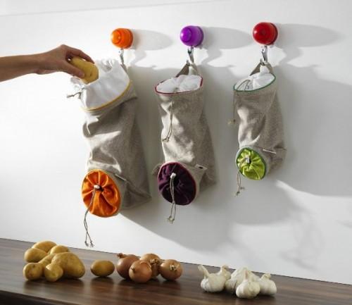 Zlepšováky, nápady, vychytávky - Vrecuska na ovocie a zeleninu