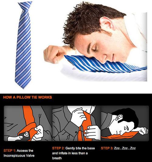 Zlepšováky, nápady, vychytávky - Nafukovacia kravata