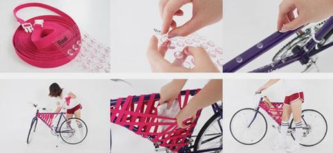 Urobte si originalny nosic na bicykel