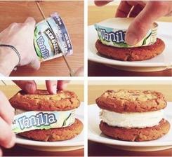 Staci kelimok zmrzliny, keksy a mate pekne, chutne a rychle kolaciky.