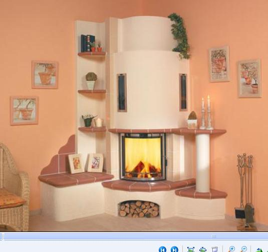 Horí ohník horí alebo inšpirácie na krb - Obrázok č. 15